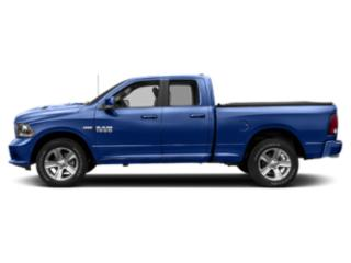 Blue Streak Pearlcoat 2018 Ram Truck 1500 Pictures 1500 Quad Cab Sport 4WD photos side view