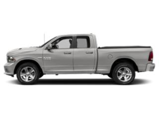 Bright Silver Metallic Clearcoat 2018 Ram Truck 1500 Pictures 1500 Quad Cab Sport 2WD photos side view
