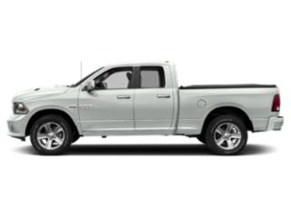 Bright White Clearcoat 2018 Ram Truck 1500 Pictures 1500 Quad Cab Sport 4WD photos side view