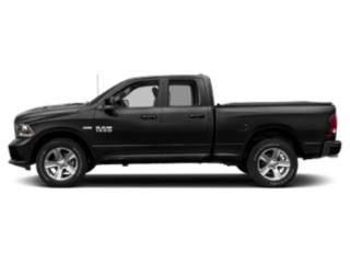 Brilliant Black Crystal Pearlcoat 2018 Ram Truck 1500 Pictures 1500 Quad Cab Sport 2WD photos side view