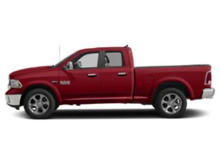 Flame Red Clearcoat 2018 Ram Truck 1500 Pictures 1500 Quad Cab Laramie 4WD photos side view
