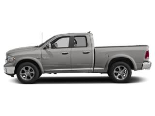 Bright Silver Metallic Clearcoat 2018 Ram Truck 1500 Pictures 1500 Quad Cab Laramie 4WD photos side view