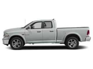 Bright White Clearcoat 2018 Ram Truck 1500 Pictures 1500 Quad Cab Laramie 2WD photos side view