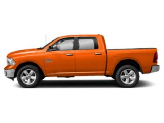 Omaha Orange 2018 Ram Truck 1500 Pictures 1500 Crew Cab SSV 4WD photos side view