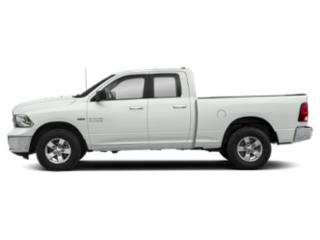 Bright White Clearcoat 2018 Ram Truck 1500 Pictures 1500 Big Horn 4x4 Quad Cab 6'4 Box photos side view