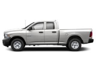 Bright Silver Metallic Clearcoat 2018 Ram Truck 1500 Pictures 1500 Express 4x4 Quad Cab 6'4 Box photos side view