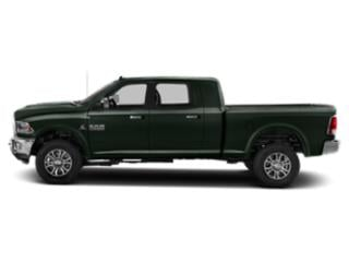 Black Forest Green Pearlcoat 2018 Ram Truck 2500 Pictures 2500 Laramie 4x4 Mega Cab 6'4 Box photos side view