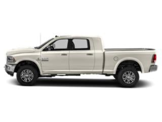 Pearl White 2018 Ram Truck 2500 Pictures 2500 Laramie 4x4 Mega Cab 6'4 Box photos side view