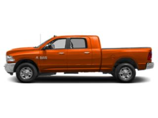 Omaha Orange 2018 Ram Truck 2500 Pictures 2500 Mega Cab Bighorn/Lone Star 2WD photos side view