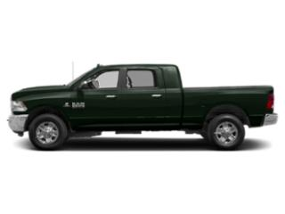 Black Forest Green Pearlcoat 2018 Ram Truck 2500 Pictures 2500 Mega Cab Bighorn/Lone Star 2WD photos side view