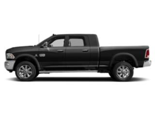 Brilliant Black Crystal Pearlcoat 2018 Ram Truck 2500 Pictures 2500 Mega Cab Limited 2WD T-Diesel photos side view