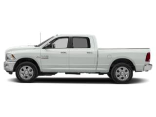 Bright White Clearcoat 2018 Ram Truck 2500 Pictures 2500 Crew Cab SLT 4WD T-Diesel photos side view