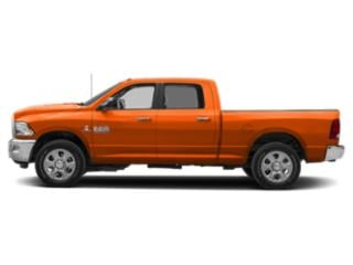 Omaha Orange 2018 Ram Truck 2500 Pictures 2500 Crew Cab SLT 4WD T-Diesel photos side view