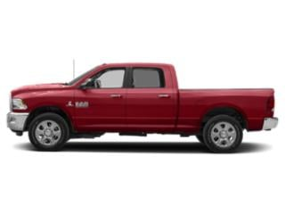 Flame Red Clearcoat 2018 Ram Truck 2500 Pictures 2500 Crew Cab SLT 4WD T-Diesel photos side view