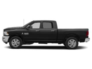 Black Clearcoat 2018 Ram Truck 2500 Pictures 2500 Crew Cab SLT 4WD T-Diesel photos side view