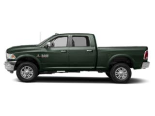 Black Forest Green Pearlcoat 2018 Ram Truck 2500 Pictures 2500 Crew Cab Laramie 2WD T-Diesel photos side view