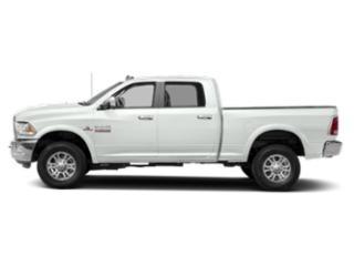Bright White Clearcoat 2018 Ram Truck 2500 Pictures 2500 Crew Cab Laramie 2WD T-Diesel photos side view
