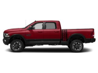 Flame Red Clearcoat 2018 Ram Truck 2500 Pictures 2500 Power Wagon 4x4 Crew Cab 6'4 Box photos side view