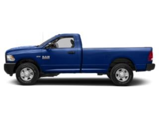 Blue Streak Pearlcoat 2018 Ram Truck 2500 Pictures 2500 SLT 4x2 Reg Cab 8' Box photos side view