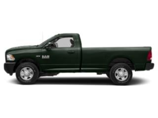 Black Forest Green Pearlcoat 2018 Ram Truck 2500 Pictures 2500 SLT 4x2 Reg Cab 8' Box photos side view