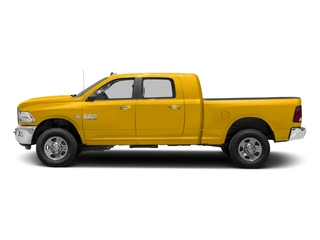 Yellow 2018 Ram Truck 3500 Pictures 3500 Mega Cab Bighorn/Lone Star 2WD photos side view
