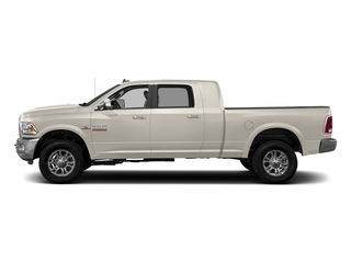 Pearl White 2018 Ram Truck 3500 Pictures 3500 Limited 4x4 Mega Cab 6'4 Box photos side view