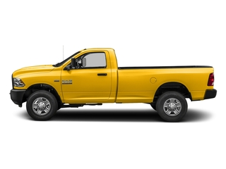 Yellow 2018 Ram Truck 3500 Pictures 3500 Regular Cab SLT 2WD photos side view