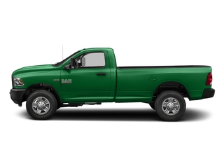 Bright Green 2018 Ram Truck 3500 Pictures 3500 Tradesman 4x2 Reg Cab 8' Box photos side view