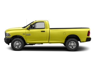 National Safety Yellow 2018 Ram Truck 3500 Pictures 3500 Tradesman 4x2 Reg Cab 8' Box photos side view