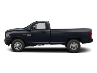 Midnight Blue Pearlcoat 2018 Ram Truck 3500 Pictures 3500 Regular Cab SLT 2WD photos side view