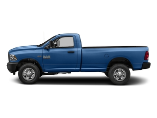 Blue Streak Pearlcoat 2018 Ram Truck 3500 Pictures 3500 Tradesman 4x2 Reg Cab 8' Box photos side view