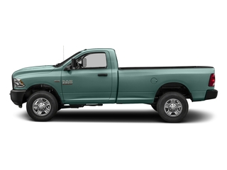Light Green 2018 Ram Truck 3500 Pictures 3500 Tradesman 4x2 Reg Cab 8' Box photos side view