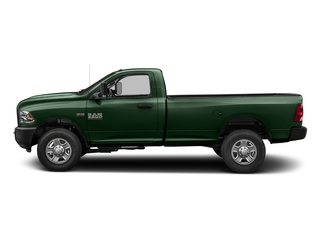 Timberline Green Pearlcoat 2018 Ram Truck 3500 Pictures 3500 Regular Cab SLT 2WD photos side view