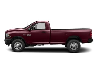 Delmonico Red Pearlcoat 2018 Ram Truck 3500 Pictures 3500 Tradesman 4x2 Reg Cab 8' Box photos side view