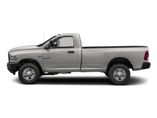 Bright Silver Metallic Clearcoat 2018 Ram Truck 3500 Pictures 3500 Tradesman 4x2 Reg Cab 8' Box photos side view
