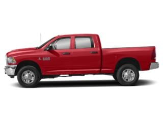 Bright Red 2018 Ram Truck 3500 Pictures 3500 Tradesman 4x4 Crew Cab 8' Box photos side view