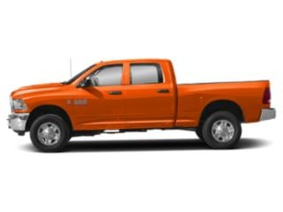 Omaha Orange 2018 Ram Truck 3500 Pictures 3500 SLT 4x2 Crew Cab 6'4 Box photos side view