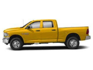 Yellow 2018 Ram Truck 3500 Pictures 3500 SLT 4x2 Crew Cab 6'4 Box photos side view