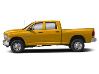 Construction Yellow 2018 Ram Truck 3500 Pictures 3500 SLT 4x2 Crew Cab 6'4 Box photos side view
