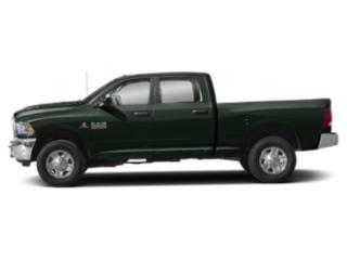 Black Forest Green Pearlcoat 2018 Ram Truck 3500 Pictures 3500 Crew Cab Longhorn 2WD photos side view