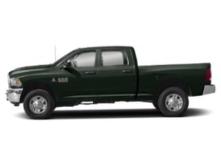 Black Forest Green Pearlcoat 2018 Ram Truck 3500 Pictures 3500 Tradesman 4x4 Crew Cab 8' Box photos side view