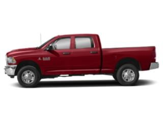 Flame Red Clearcoat 2018 Ram Truck 3500 Pictures 3500 Crew Cab Tradesman 4WD photos side view