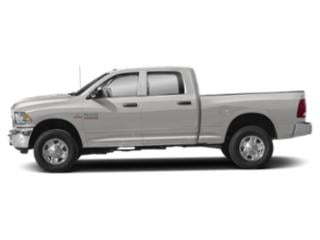 Bright Silver Metallic Clearcoat 2018 Ram Truck 3500 Pictures 3500 Crew Cab Limited 4WD photos side view