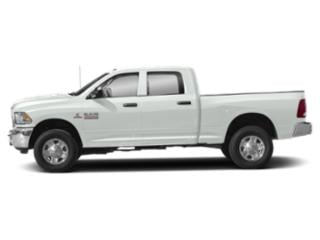 Bright White Clearcoat 2018 Ram Truck 3500 Pictures 3500 Crew Cab Limited 2WD photos side view