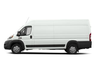 Bright White Clearcoat 2018 Ram Truck ProMaster Cargo Van Pictures ProMaster Cargo Van 3500 High Roof 159 WB EXT photos side view