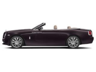 Black Ember 2018 Rolls-Royce Dawn Pictures Dawn 2 Door Drophead Coupe photos side view