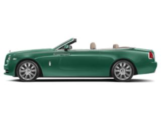 Fame Green 2018 Rolls-Royce Dawn Pictures Dawn 2 Door Drophead Coupe photos side view