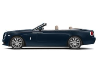 Sapphire Black 2018 Rolls-Royce Dawn Pictures Dawn 2 Door Drophead Coupe photos side view