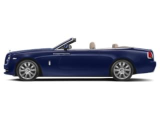 Royal Blue 2018 Rolls-Royce Dawn Pictures Dawn 2 Door Drophead Coupe photos side view