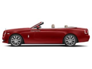 Ensign Red 2018 Rolls-Royce Dawn Pictures Dawn 2 Door Drophead Coupe photos side view